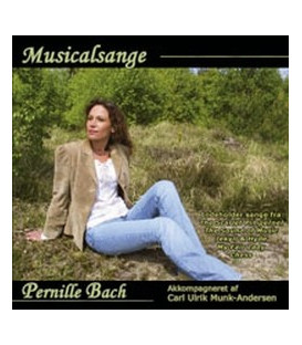 Pernille Bach - Musicalsange - CD - NY