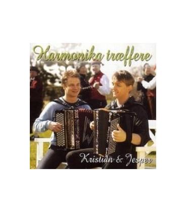 Kristian & Jesper - Harmonika Træffere - CD - BRUGT