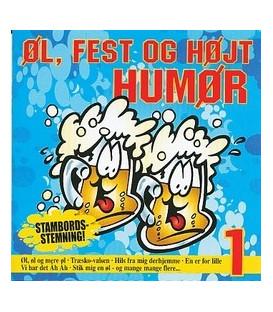 Stambords stemning Øl, fest og højt humør vol. 1 - CD - NY