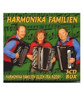 Harmonika Familien vol. 1-2-3 Instrumental - 3CD - NY - TILBUD