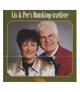 Lis & Per - Dansktop Træffere - CD - NY