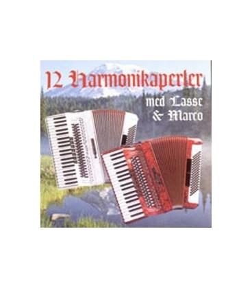 12 harmonikaperler med Lasse & Marco vol. 1