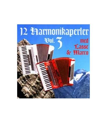 12 harmonikaperler med Lasse & Marco vol. 3
