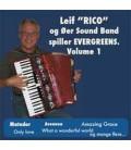 Leif RICO og øersound Band Spiller EVERGREENS Volume 1- instrumental - CD - NY