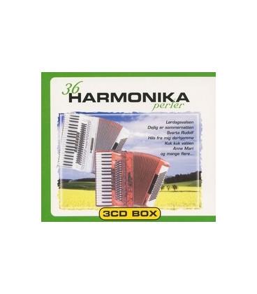 36 Harmonika perler 3 CD