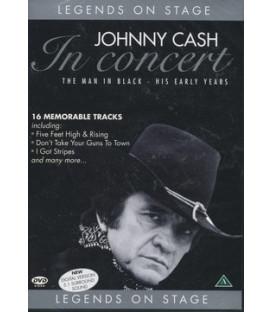 Johnny Cash In Concert - The Man in Black (DVD Musikvideo)