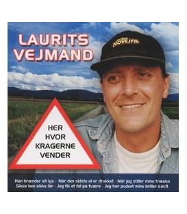 Laurits Vejmand - Her hvor kragerne vender - CD - NY