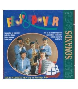 Rico Kvintetten og et festligt kor Glade sømandssange - CD - NY