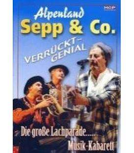 Alpenland Sepp & Co. - Verrückt-Genial/Live (musik DVD)