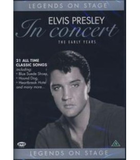 Elvis Presley In Concert - The Early Years (Musik DVD)