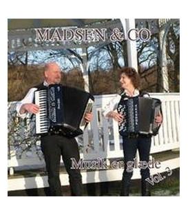 MADSEN & CO Vol. 3 Musik er glæde - CD - NY