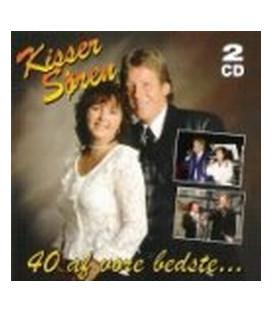 Kisser & Søren 40 af vore bedste 2CD