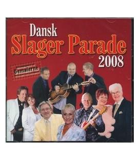 Dansk Slager Parade 2008 - CD - NY