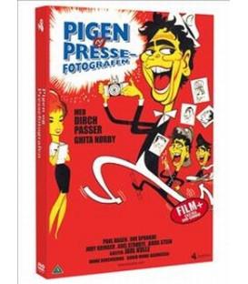 PIGEN OG PRESSEFOTOGRAFEN - DVD - NY
