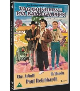 VAGABONDERNE PÅ BAKKEGÅRDEN - DVD - NY