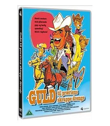 GULD TIL PRÆRIENS SKRAPPE DRENGE - DVD - NY