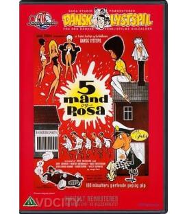 5 mand og Rosa DVD