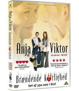 Anja Og Viktor - Brændende Kærlighed - DVD