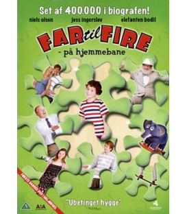 Far Til Fire På Hjemmebane - DVD