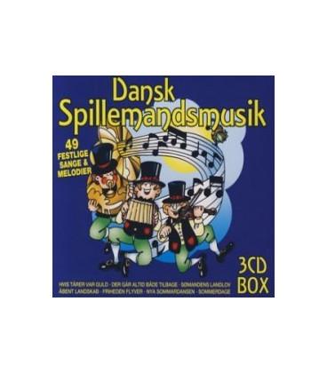DANSK SPILLEMANDSMUSIK VOL. 1, 2 og 3