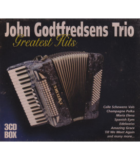 John Godtfredsens Trio Greatest Hits 3 CD