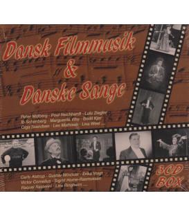 DANSK FILMMUSIK & DANSKE SANGE VOL. 1-2-3 - 3 CD