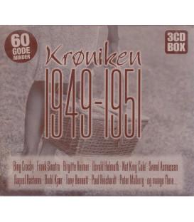 KRØNIKEN 1949-1951 3 CD