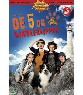 De 5 Og Djævleklippen DVD