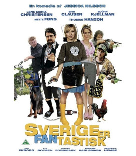Sverige Er Fantastisk - DVD
