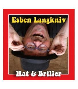 Esben Langkniv Hat og briller