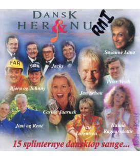 Dansk her & nu - CD - BRUGT