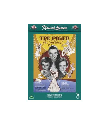 Tre Piger Fra Jylland - DVD
