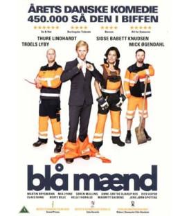Blå mænd - DVD - BRUGT
