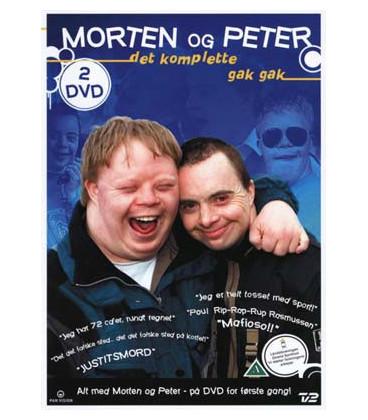 Morten og Peter: Det komplette gak gak (2-disc) - DVD - BRUGT