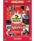 5 mand og Rosa - DVD - BRUGT