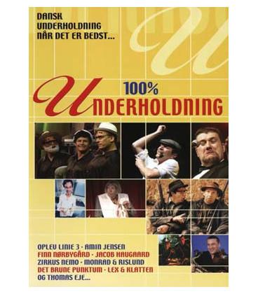 100% Underholdning - DVD - BRUGT