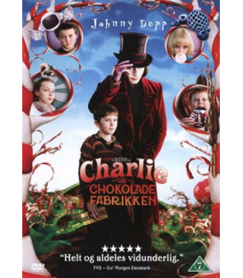 Charlie og Chokoladefabrikken - DVD - BRUGT